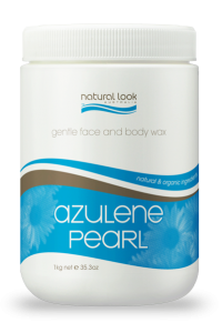 Azulene Pearl Strip Wax Naural Look 1kg