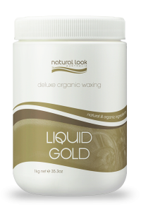Liquid Gold Strip Wax Natural Look 1kg