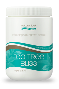 Tea Tree Bliss Strip Wax Natural Look 1kg