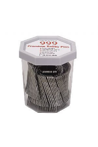 Bobby Pins 2 Silver 999 Drum