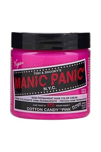 Manic Panic Cotton Candy Pink Classic Creme 118ml