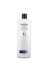 Nioxin 6 Conditioner Medium Coarse Noticeably Thin Chemically Treated 1L