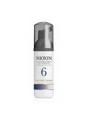 Nioxin 6 Scalp And Hair Treatment Medium Coarse Noticeably Thin Chemically Treated 100ml