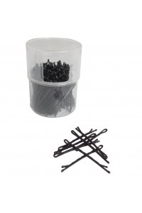 Bobby Pins 2in Black Clean Skin Twist Top Touch 200g