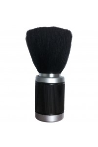 Neck Brush Black Ribbed Rubber Handle Touch