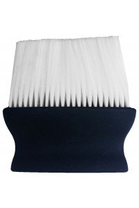 Neck Brush Plastic Black Handle Touch