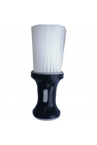 Neck Brush Talc Dispenser Luxor Pro Black Touch