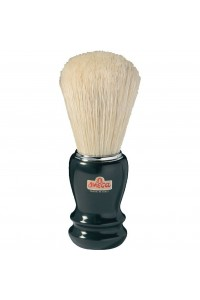 SH1988 Shave Brush Omega 20106 Black Chrome Ring