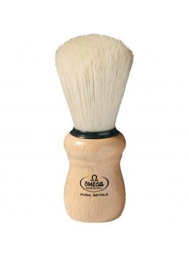 Shave Brush Omega Wood 5