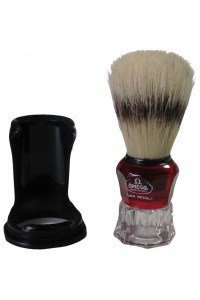 Shave Brush Omega 81052 Crystal Base
