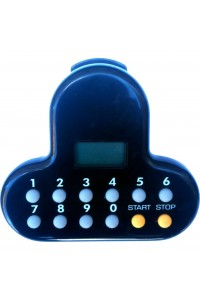 Timer Clip On Digital Black Touch Bt4107