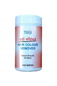 Ezi Wipes Hair Colour Remover Touch 100 Wipes