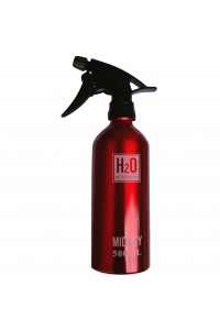 Waterspray Aluminium H2O Red Touch 500ml