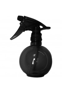Waterspray Plastic Round Black Touch 375ml