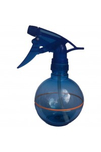 Waterspray Plastic Round Blue Orange Stripe Touch 375ml